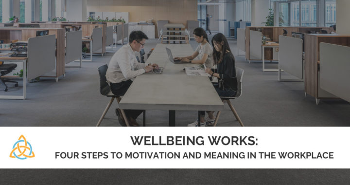 Wellbeing Works: Four Steps to Motivation in the Workplace