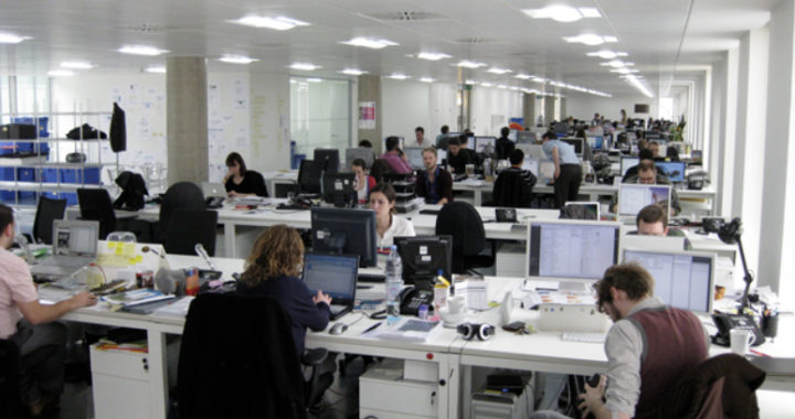 Noise pollution is a big cause of dissatisfaction in the modern workplace