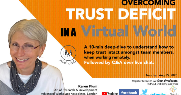 Overcoming Trust Deficit in a Virtual World