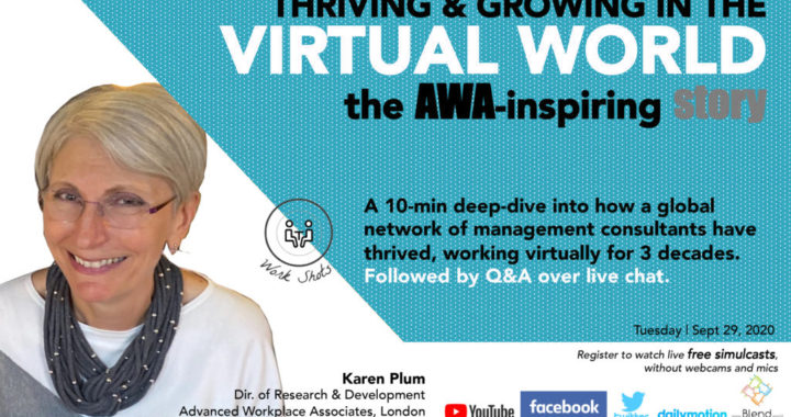 Thriving & Growing as a global virtual team | The AWA-inspiring story