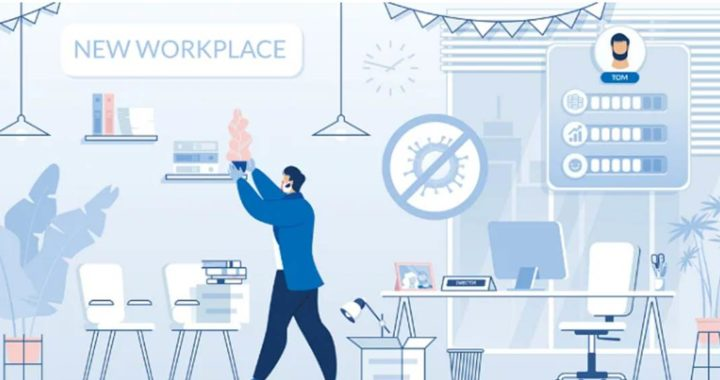 Recalibrated workplace in a post pandemic world